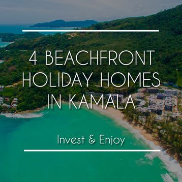 4 Beachfront Holiday Homes in Kamala