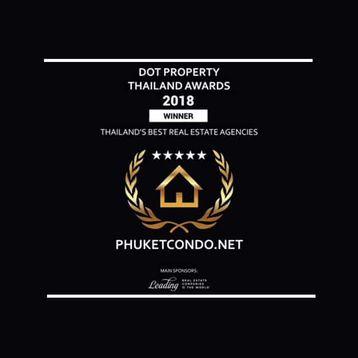 PhuketCondo.net Wins Thailand Property Award 2018