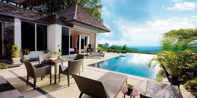 Panoramic Sea View Villa Overlooking Layan