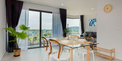 Centrally Located Sea View Junior Suite Apartment in Chalong