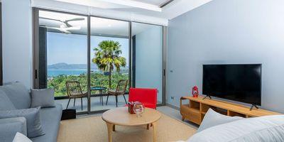 Spacious One Bedroom Sea View Condo for Rent - Surin Beach, Phuket