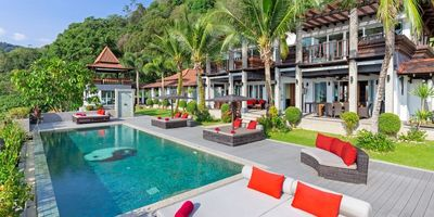 8-Bedroom Thai Bali Style Luxury Villa, Kalim Patong Bay Sea Views