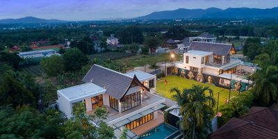 Unique 5 Bedroom Villa for Sale | Private Pool & Football Pitch | Cherngtalay, Phuket
