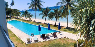 Direct Shoreline Duplex Condo with Sea View for Sale in Phuket, Thailand