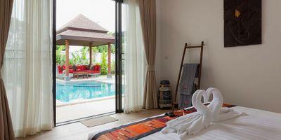 Villa Resort for Sale in Phuket   5 Pool Villas + Reception &  Office