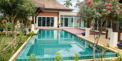 Thai / Balinese Style Pool Villa   Green Hill Villas   Near UWCT International School and Thanyapura.