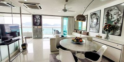 Panoramic Sea View Freehold Condo for Rent at BayCliff, Patong