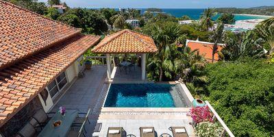 Charming 3-story Sea View Villa for Sale at Katamanda, Phuket