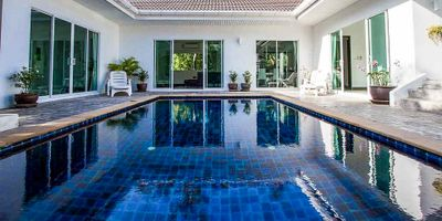 Balinese Style 4-Bedroom Mountain View Villa in Chalong for Sale