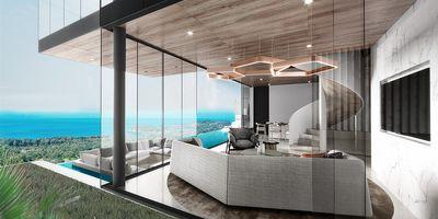 Exquisite 3 Bedroom, Two-storey Sea View Villas, Layan, Phuket