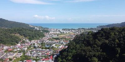Sea View Land for Sale - 6 Rai - Kamala, Phuket