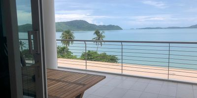 Spacious Beachfront Condo with Sea View for Rent in Phuket