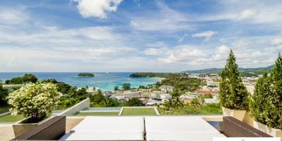 2 Bedroom Sea View Villa for Rent, The Heights, Kata Beach in Phuket