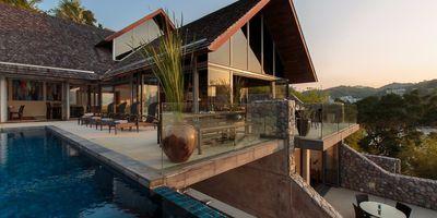 South Facing Oceanfront Sea View Villa at Samsara Kamala