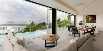 Stunning Newly Completed Sea View Villa in Yamu Hills