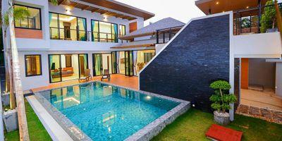 Brand New Sea View Pool Villa on Soi Saiyuan in Rawai for Rent
