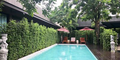 Furnished 3 Bedroom House with Shared Pool in Chalong for Rent