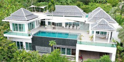 Luxury Villa with Spectacular Mountain Views in Kamala, Phuket