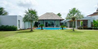 4 Bedroom Pool Villa w/ Garden Space In Layan  for Sale
