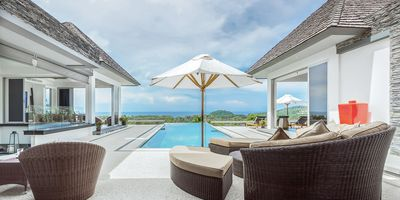 Stunning 4-Bedroom Sea View Luxury Villa Overlooking Layan