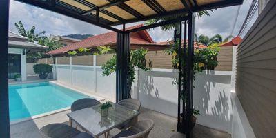Golden Ville Kathu Pool Villa for Rent - Tennis Court Nearby