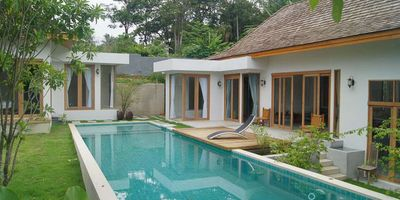 Contemporary Thai Style Pool Villa For Rent In Chalong.